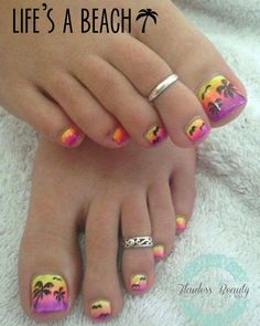 Before you go get your pedicure, you're going to need some inspiration and ideas on what to put on your toes. Here are 9 sizzling summer pedicure ideas!