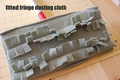 Here's a tutorial for making your own dry dusting sweeper cloths- like the ones you would use with a Swiffer. Fleece is a great material to...