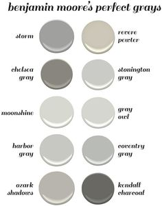 Benjamin Moore\'s Perfect Gray Paint Colors. Benjamin Moore Storm. Benjamin M... - http://home-painting.info/benjamin-moores-perfect-gray-paint-colors-benjamin-moore-storm-benjamin-m/