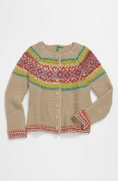 United Colors of Benetton Kids Knit Sweater (Little Girls & Big Girls) | Nordstrom