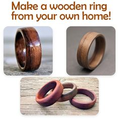 Wooden Rings, Wooden Jewelry, Diy Wood Projects, Wood Crafts, Cool Gadgets To Buy, Wood Carving Tools, Woodworking Tools, Easy Woodworking Projects, Cool Things To Buy