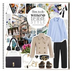 """""""Brunch With Friends"""" by ccclem ❤ liked on Polyvore featuring Joseph, Altuzarra, Isabel Marant, Wet n Wild, Chanel, Avenue, H&M, Michael Kors, Gucci and Jayson Home"""