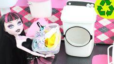 Manualidades para muñecas: Haz una lavadora / secadora para tu muñeca - ...