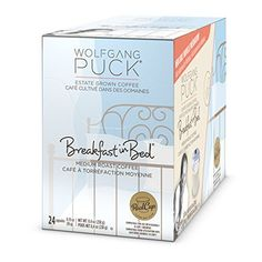 Wolfgang Puck Breakfast In Bed Coffee Single Serve Cups for Keurig, 24 Count -- Trust me, this is great! Click the image. : K Cups