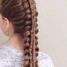 Quick look at my stacked braid tutorial. This is a version of dutch braid with fishtail braid on top. You can find a full slower video on my Youtube-channel (link in bio). Tag me in your pic if you try this one! ⭐️ Tässä pikakatsaus kerrosletin/pinoletin ohjevideoon. Koko videoon linkki profiilissani. Tägää minut kuvaan, jos kokeilet! #stackedbraid #kerrosletti #pinoletti #dutchbraid #fishtailbraid #lettikampaus #letitys