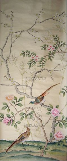 Chinoiserie wallpaper for a fraction of de Gournay