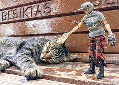 Dinlen biraz pampa  #beşiktaş #istanbul  #boğaz #bosphorus #turkishcoffee #kahve #kedi #cat #life #cats #catsofinstagram #bench #park
