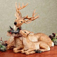 35 Ideas fantásticas para decorar con renos en Navidad - Dale Detalles Christmas Bedroom, Shabby Chic Christmas, Red Christmas, Christmas Cakes, Animated Christmas Decorations, Silver Christmas Decorations, Reindeer Decorations, Hobby Lobby Christmas, Burlap Bows