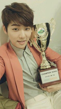 Minhyuk after CNBlue wins Show Champion