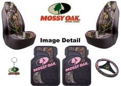 Mossy Oak Infinity Pink Camo Car Truck SUV Front Seat Heavy Duty Trim-to-Fit Rubber Floor Mats Universal-fit Front Bucket Seat Covers Steering Wheel Cover Key Chain - 6PC : Amazon.com : Automotive