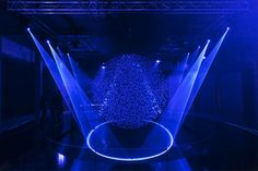FLUIDIC installation by WHITEvoid