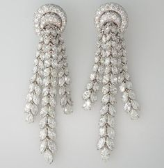 Harry Winston Chandelier Earrings View david webb chandelier