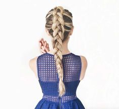 Pull through dutch braided ponytail by Cara McLeay