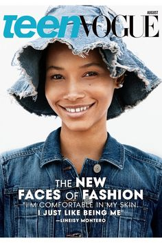 Teen Vogue August 2015 is all about the New Faces of Fashion and Jeans [Covers]