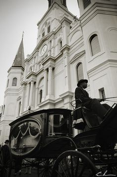 Funeral outside of St. Louis Cathedral. When I kick the bucket, I want this.