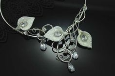 Hey, I found this really awesome Etsy listing at http://www.etsy.com/listing/121750239/bridal-necklace-calla-lily-art-nouveau