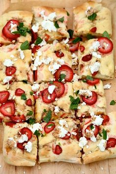 Strawberry Balsamic Flatbread - Recipes, Dinner Ideas, Healthy Recipes & Food Guides