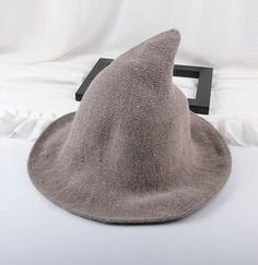 Modern Witch Hat Made From High Quality Sheep Wool