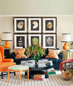 Im Thinking Plum Palette For The Living Room