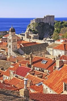St. Lawrence Fortress and city of Dubrovnik, Croatia