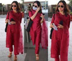 Casual Indian Fashion, Indian Fashion Dresses, Indian Designer Outfits, Ethnic Outfits, Indian Outfits, Divya Kumar, Designer Lehnga Choli, Churidhar Designs, Ethinic Wear