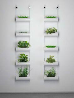 Horta Vertical: Brinque com os canos de PVC