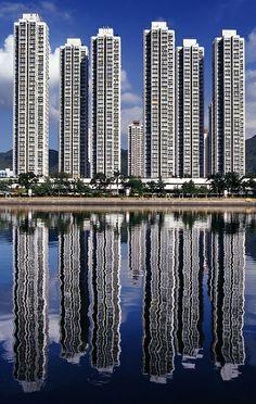 High Rises in Hong Kong www.pinterest.com/taddhh