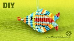 3D Macrame Fish Tutorial « Jewelry