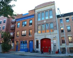 E210 FDNY Firehouse Engine 210, Fort Greene, Brooklyn, New York City by jag9889, via Flickr shared by NYC Firestore