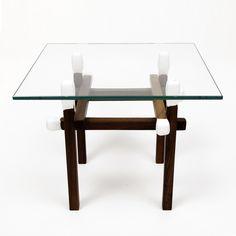 Walnut Matchstick Table