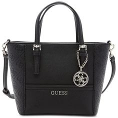 85bca546c7fb Guess Delaney Petite Tote with Crossbody Strap ( 65) ❤ liked on Polyvore  featuring bags