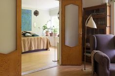 Apartment in Helsinki, Finland. Nice, warm atmosphere. Clean and simple with everything you need for your stay in Helsinki. Next to so-called central park, in a green, quiet area. 15-20 minutes from very heart of the city by tram or bus, 30 minutes walking.  We rent out our plac...