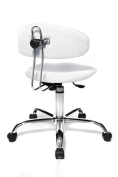 Topstar ST290W73E Sitness 40 Fitness Swivel Chair with Three-Dimensionally Moveable Seat - White: Amazon.co.uk: Office Products