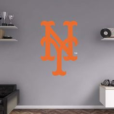 New York Mets fan? Prove it! Put your passion on display with a giant New York Mets Alternate Logo Fathead wall decal!