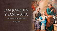 Hoy se celebra a San Joaquín y Santa Ana, patronos de los abuelos
