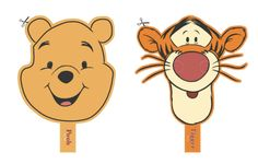 DIY Printable Winnie the Pooh & Tigger Masks