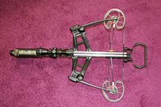 A new type of crossbow is the reverse draw. This is a new crossbow from Barnett introduced in 2012.