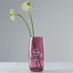 A personalised vase is the perfect Mother's Day gift. Create a special gift for mum this Mother's Day with a personalised vase. The vase comes etched with a leaf design which frames the words, 'LOVE. Special Gifts For Mum, How To Make Crystals, Colored Vases, Best Valentine's Day Gifts, Perfect Mother's Day Gift, Online Gift Shop, Valentines Gifts For Her, Christmas Gifts For Women, Beautiful Gifts