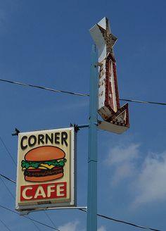 Corner Cafe......Jackson, Ohio.