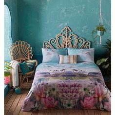 Butterfly Home by Matthew Williamson 'Cuba' tropical scene bedding set- | Debenhams