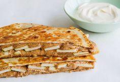 Almond Butter & Apple Breakfast Quesadilla - Sweet Paul