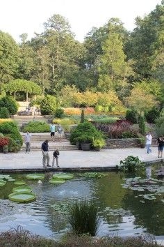 The Sarah P. Duke Gardens in Durham NC, is considered a national architectural treasure.