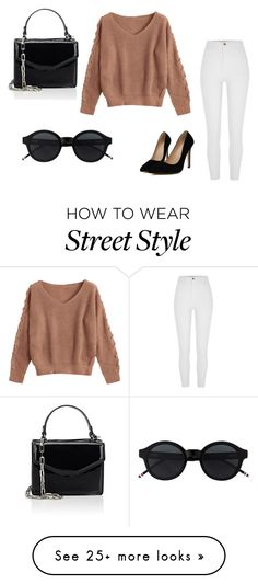 """Street Style in New York City"" by ronaldraegan-1 on Polyvore featuring Deux Lux"
