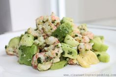 Clean Eating Recipe – Lobster, Avocado and Cilantro Salad