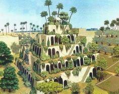 World's seven wonders - Babylon's Hanging gardens - Socialphy