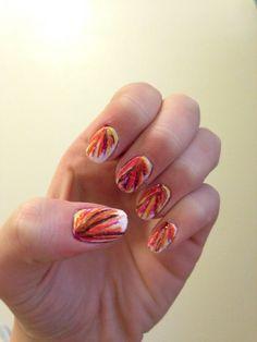 Fall / November / Thanksgiving nails
