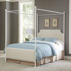 Found it at Joss & Main - Marianne Upholstered Canopy Bed