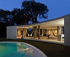 Tepoztlan Lounge par Cadaval & Solà-Morales Espace de détente en pleine nature, Mexique