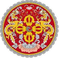 Bhutan /  འབྲུག་ཡུལ་ Thunder Dragon, Jawaharlal Nehru, Gross National Happiness, Brass Band, Custom Christmas Ornaments, Zeus Statue, Buddhist Symbols, National Symbols, National Anthem