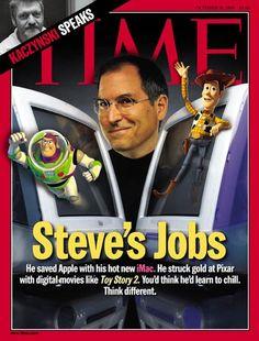 Steve Jobs (1999 TIME cover)